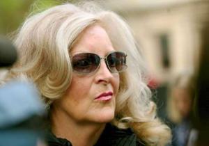 The Moran matriarch looking fierce